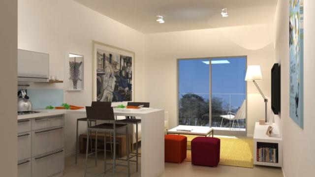 """חלל סלון בדירה, תכנון ועיצוב ע""""י גל פלג"""