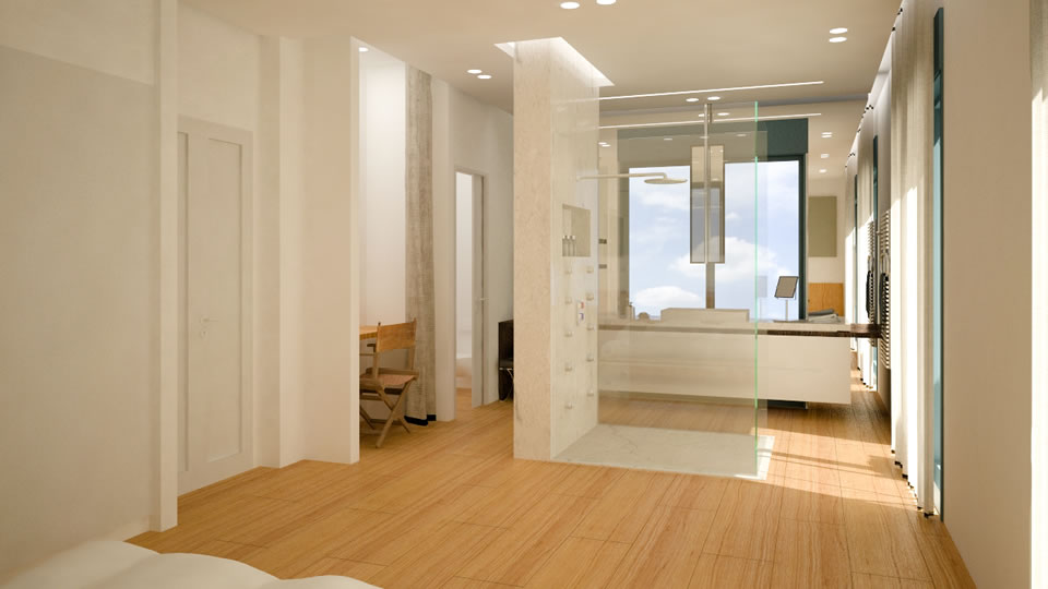 """חלל חדר הורים, תיכנון ועיצוב ע""""י איזבל ישי"""